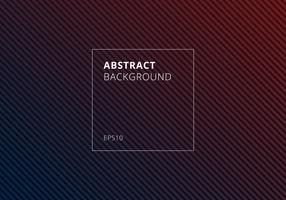 Abstrakte blaue und rote gestreifte Linien diagonales Muster auf dunklem Hintergrund und Beschaffenheit.