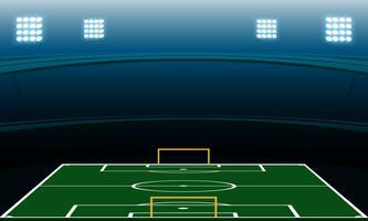 Nachtfußballstadion vektor