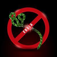 Stoppen Sie das Ebola-Virus