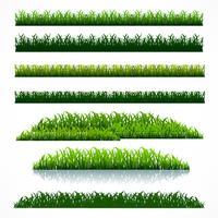 Fußball Gras packen vektor