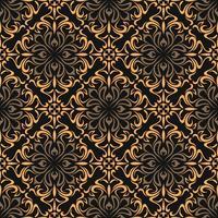 Luxus ornamentalen Hintergrund. Damastblumenmuster. Königliche Tapete. vektor