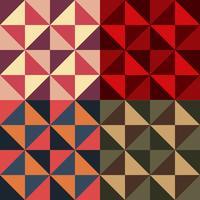 dekoratives Muster. andere Farbe option.vector Abbildung vektor