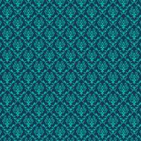 elegant blå sömlös damast bakgrund