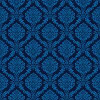 eleganter blauer nahtloser Damasthintergrund vektor