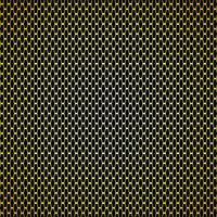 Gold Kohlefaser Hintergrund Nahtlose Muster. Vektor-Illustration