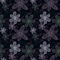 Sweet Floral sömlös mönster background.Romantic bakgrund. Vektor illustration.