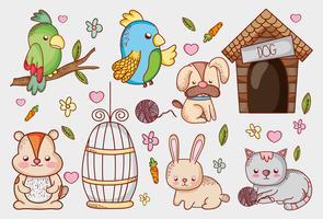 Tierhandlung Cartoons