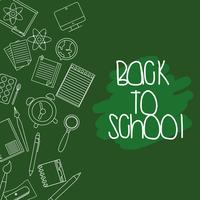 utbildning skolredskap bakgrundsdesign