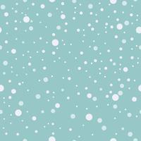 Nahtloses Muster. Fallender Schnee, Schneeflockenhintergrund blauer Vektor. vektor