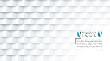 Abstrakte Papierschablone - Origamiart vektor
