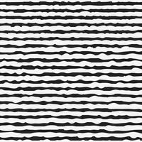 Svartvitt sömlöst mönster med handdragen linjer