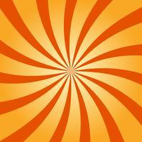 Abstrakt retro virvlande radialmönster bakgrund vektor