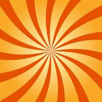 Abstrakter Retro- wirbelnder Radialmusterhintergrund vektor