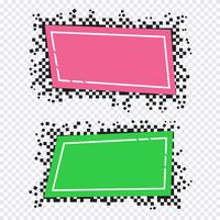 Pixelkunstdesign von Fahnen