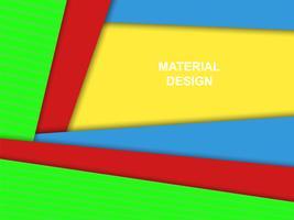 Material design vektor bakgrund, ljusa färger
