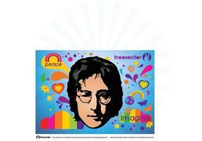 John Lennon vektor