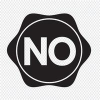 inget knappsymbols tecken