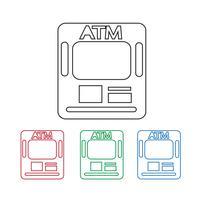 ATM-Symbol Symbol Zeichen