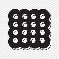 Cookie Symbol Symbol Zeichen vektor