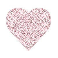 Heart Icon symbol tecken