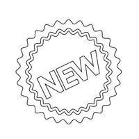 neues Symbol Symbol Zeichen vektor