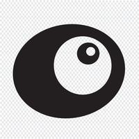 ägg ikon symbol tecken