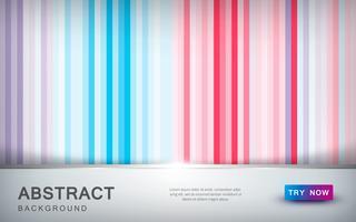 Abstrakt färgad bakgrund med överlappningsskikt och gyllene listdekoration. vektor