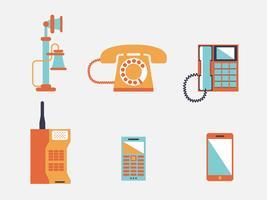 Telefon vektor illustration