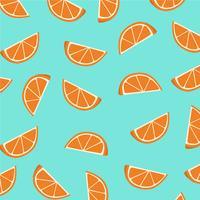 Orange skivor mönster.