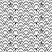 Geometrischer gestreifter nahtloser Hintergrund. vektor