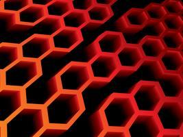 Abstrakter Hintergrund des Bienenstocks auf Vektorgrafik.