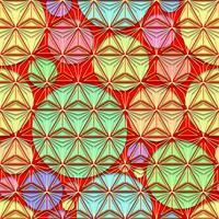 Polygonlinie und nahtloser Hintergrund.
