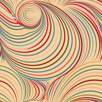 Abstrakter Farbhintergrund und nahtloses Muster auf Vektorkunst. vektor