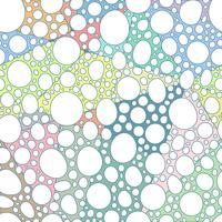 Nahtloses abstraktes von Hand gezeichnetes Muster mögen Steinform.