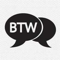 internet acronym chatt bubbla illustration