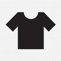 T-shirt ikon symbol tecken vektor
