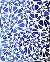 Blauer moderner Stil, kreative Design-Vorlagen