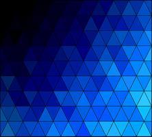 Blauer quadratischer Gitter-Mosaik-Hintergrund, kreative Design-Schablonen