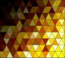 Gelber quadratischer Gitter-Mosaik-Hintergrund, kreative Design-Schablonen