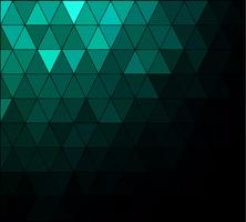 Green Square Grid Mosaic bakgrund, kreativa design mallar