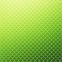 Grünes Dachziegelmuster, kreative Design-Schablonen