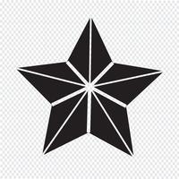 Stjärnteymbolsymbolstecken vektor
