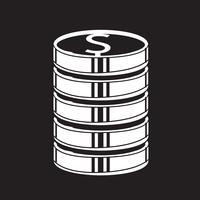 Pengar ikon symbol tecken