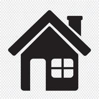 Home-Symbol Symbol Zeichen