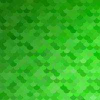 Grünes Dachziegelmuster, kreative Design-Schablonen vektor