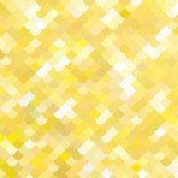 Gelbes Dachziegelmuster, kreative Design-Schablonen vektor