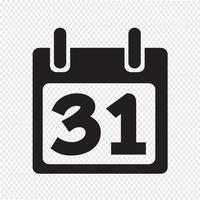Kalender Ikon symbol tecken