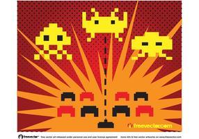 Space Invaders Vektor