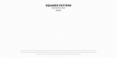 Abstrakter geometrischer weißer nahtloser Quadratmusterhintergrund und -beschaffenheit.