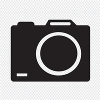 Kamerans ikon symbol tecken